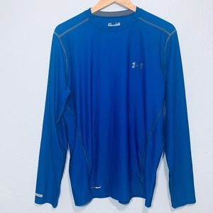 Men's Under Armour Fitted Long Sleeve Shirt Heat